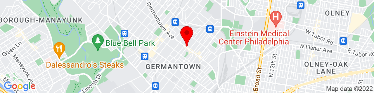 Google Map of 40.032203, -75.168519
