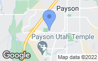 Map of Payson, UT