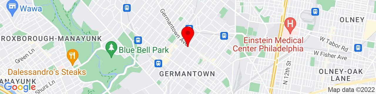 Google Map of 40.0336753, -75.1723154