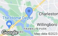 Map of Willingboro, NJ