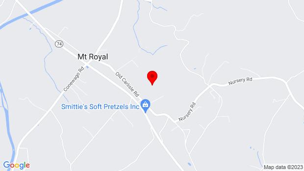 Google Map of 2035 Tall Fir Drive, Dover, PA 17315