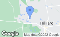 Map of Hilliard, OH