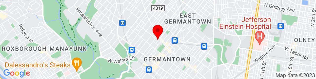 Google Map of 40.037939, -75.17779