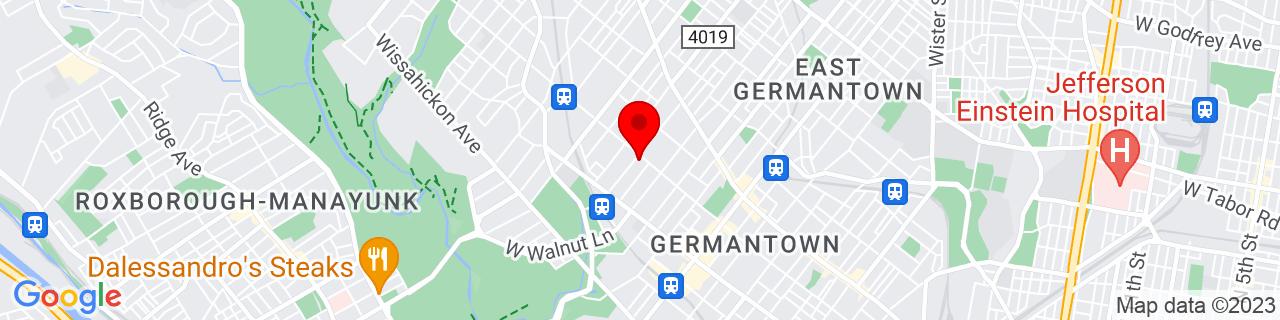 Google Map of 40.0382074, -75.1836241