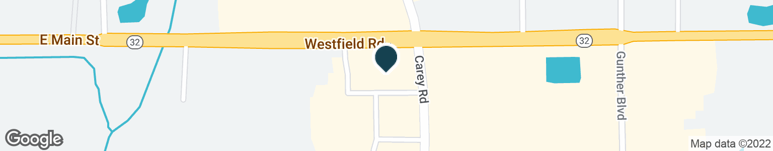 Google Map of3275 E STATE ROAD 32