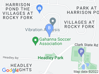 Map of Fetch! Pet Care New Albany Dog Boarding options in New Albany | Boarding