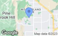 Map of Boulder, CO