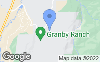 Map of Granby, CO