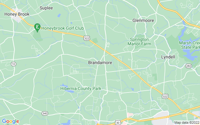 Brandamore on the map