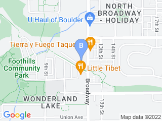 Map of Doggie Depot North Boulder Incorporated Dog Boarding options in Boulder | Boarding