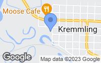 Map of Kremmling, CO
