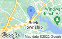 Map of Brick Township, NJ