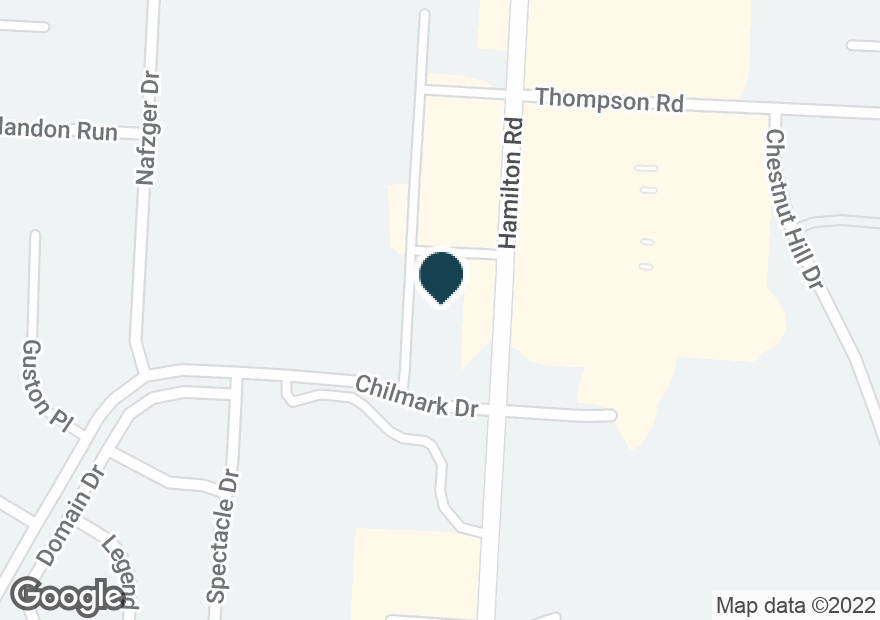 Google Map of5195 N HAMILTON RD