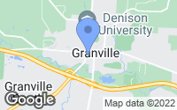 Map of Granville, OH