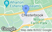 Map of Chesterbrook, PA