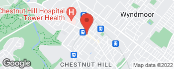 Map of 11 W Highland Ave in Philadelphia