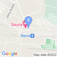 Location of Maximum on map