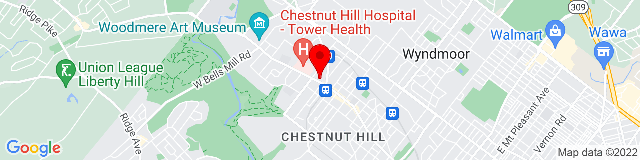 Google Map of 40.0778578, -75.2092813