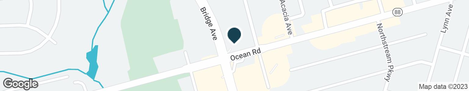 Google Map of3161 LAKEWOOD RD