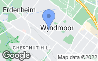 Map of Wyndmoor, PA