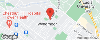 Map of 1006 E Willow Grove Ave in Wyndmoor