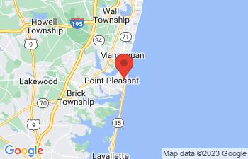 Map of Point Pleasant Beach