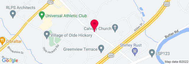 Map for Calvary Church