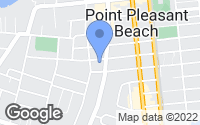 Map of Point Pleasant Beach, NJ