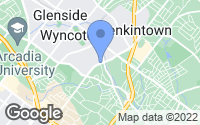 Map of Wyncote, PA