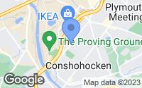 Map of Conshohocken, PA