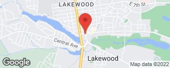Map of 300 Main St in Lakewood