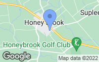Map of Honey Brook, PA
