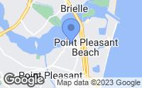 Map of Point Pleasant Beach, NJ