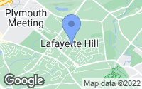 Map of Lafayette Hill, PA