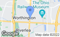 Map of Worthington, OH
