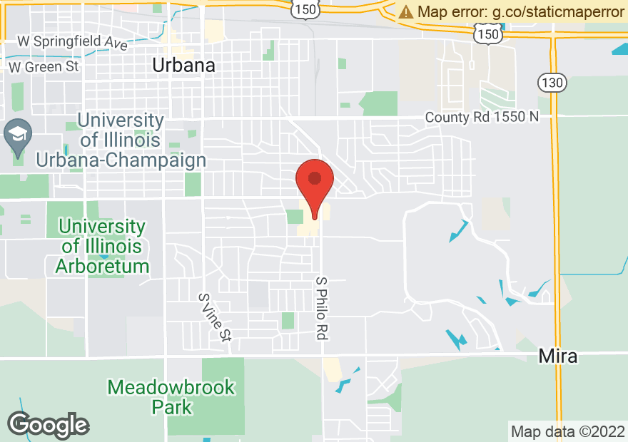 Google Map of 1801 PHILO RD