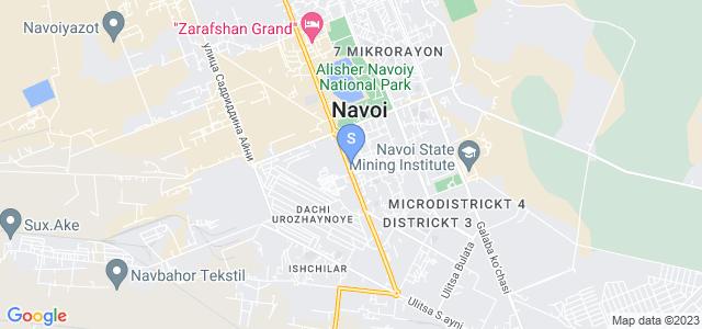 Расположение гостиницы Камилла на карте