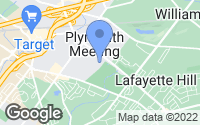Map of Plymouth Meeting, PA
