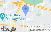 Map of Columbus, OH