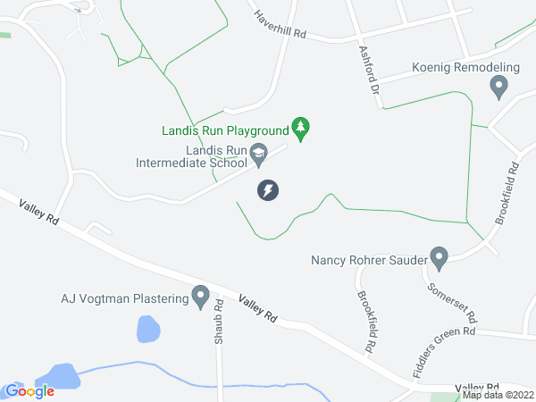 Map to Landis Run Intermediate School