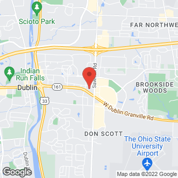 Map of Fifth Third Mortgage - April Munroe at 3800 West Dublin-Granville Rd, Dublin, OH 43017