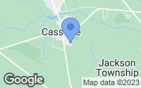 Map of Jackson Township, NJ