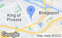 Map of King of Prussia, PA