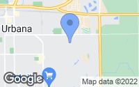 Map of Urbana, IL