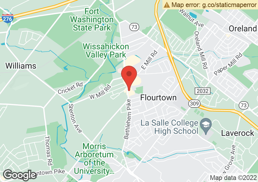 Google Map of 1456 BETHLEHEM PIKE
