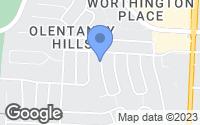 Map of Worthington, OH