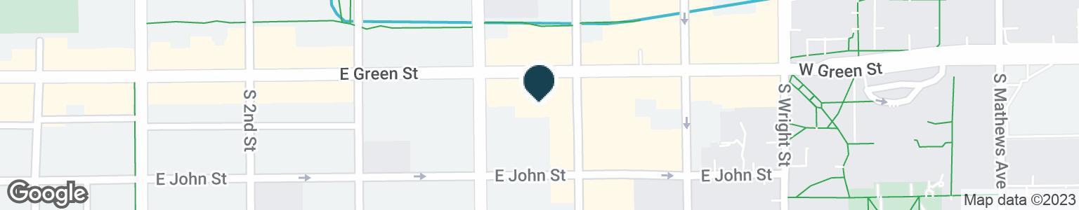 Google Map of407 E GREEN ST