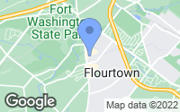 Map of Flourtown, PA