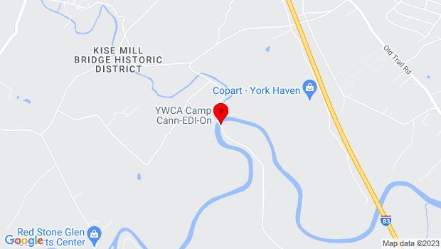 Google Map of 870 Sheepbridge Road, York Haven, PA 17370