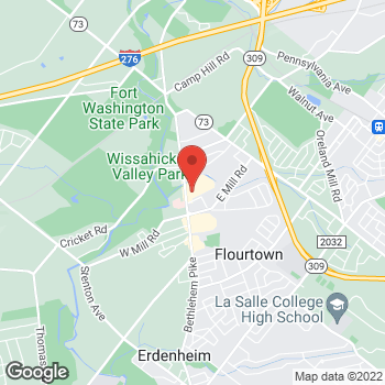 Map of Hair Cuttery at 1822 Bethlehem Pike, Flourtown, PA 19031